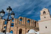 El Djem Amphitheater (1) — Stock Photo