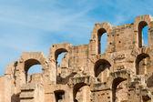 El Djem Amphitheater (8) — Stock Photo