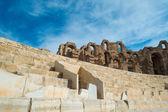 El Djem Amphitheater (10) — Stock Photo