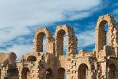 El Djem Amphitheater (12) — Stock Photo