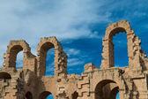 El Djem Amphitheater (14) — Stock Photo