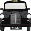 London Cab — Stock Vector