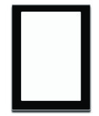Tablet computer isolated on the white backgrounds — Stock Photo