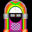 Juke Box - Stock Vector