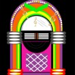Juke Box — Stock Vector