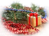 красивые рождественские украшения — Стоковое фото