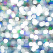 Colored of blurred lights bokeh. Abstract Red and blue Christmas background — Stock Photo
