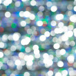 Colored of blurred lights bokeh. Abstract Red and blue Christmas background — Стоковая фотография