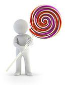 3d petit - lollipop — Photo
