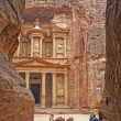 Stock Photo: Symbol of Petra(Jordan)