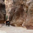 Royalty-Free Stock Photo: Canyon in Petra.