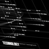 Background tecnico — Vettoriale Stock