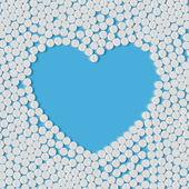 Kalp hapları — Stok Vektör