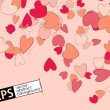 Valentine background — Vector de stock #21222773