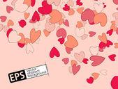Valentijn achtergrond — Stockvector