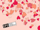 Valentine background — Vector de stock