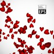 Eps, valentine background — 图库矢量图片