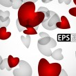 Eps, valentine background — Stock Vector #22145723