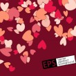 Eps, valentine background — Stock Vector
