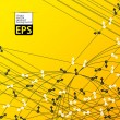 Eps, background with arrows randomly directed — Stockvector #22146005