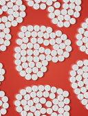 Eps, Heart of pills — Stock Vector
