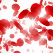 Background with red blood cells — Image vectorielle
