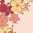 Floral background — Vettoriali Stock