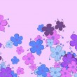 Floral background — Stok Vektör