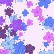 Floral background — Grafika wektorowa