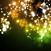 Neon struktur av dna-molekylen — Stockvektor