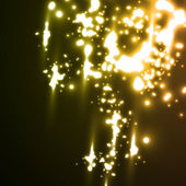 Meteor rain in neon style — Stock Vector