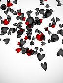 Valentine pozadí — Stock vektor