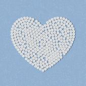 丸的心 — 图库矢量图片