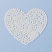 καρδιά της χάπια — Διανυσματικό Αρχείο