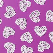 Hjärtat av piller — Stockvektor