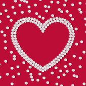 Heart of pills — Stock Vector