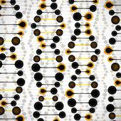 Structure of the DNA molecule — Cтоковый вектор