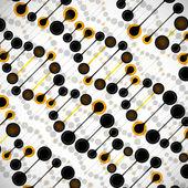 Dna 分子的结构 — 图库矢量图片