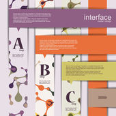 Design infographics — Stock Vector