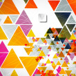Abstract geometric background — Vektorgrafik