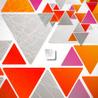 Abstract geometric background — Imagens vectoriais em stock