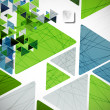 Abstract geometric background — Stockvectorbeeld