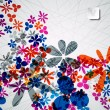 Abstract floral background — Vektorgrafik