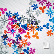 Abstract floral background — Vettoriali Stock