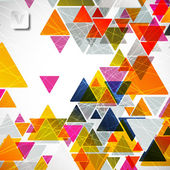 Abstract geometric background — Vettoriale Stock