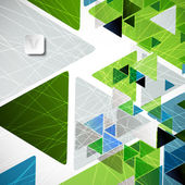 Abstract geometric background — Vector de stock