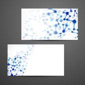 Diseño de tarjetas — Vector de stock
