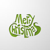 メリー クリスマス — ストックベクタ