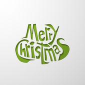 Vrolijk kerstfeest — Stockvector