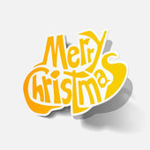 Merry Christmas — Stock Vector